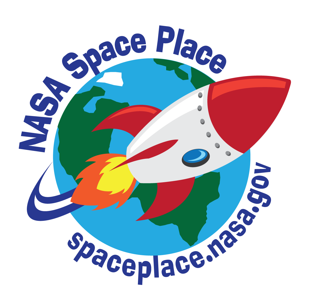 click to visit SpacePlace website