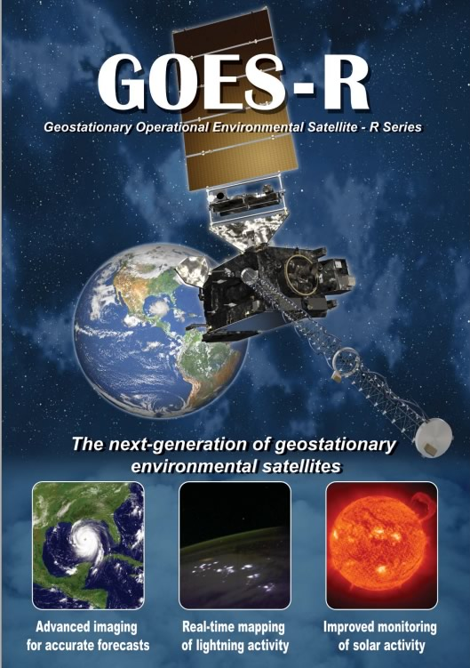 image: Poster front: GOES-R Products