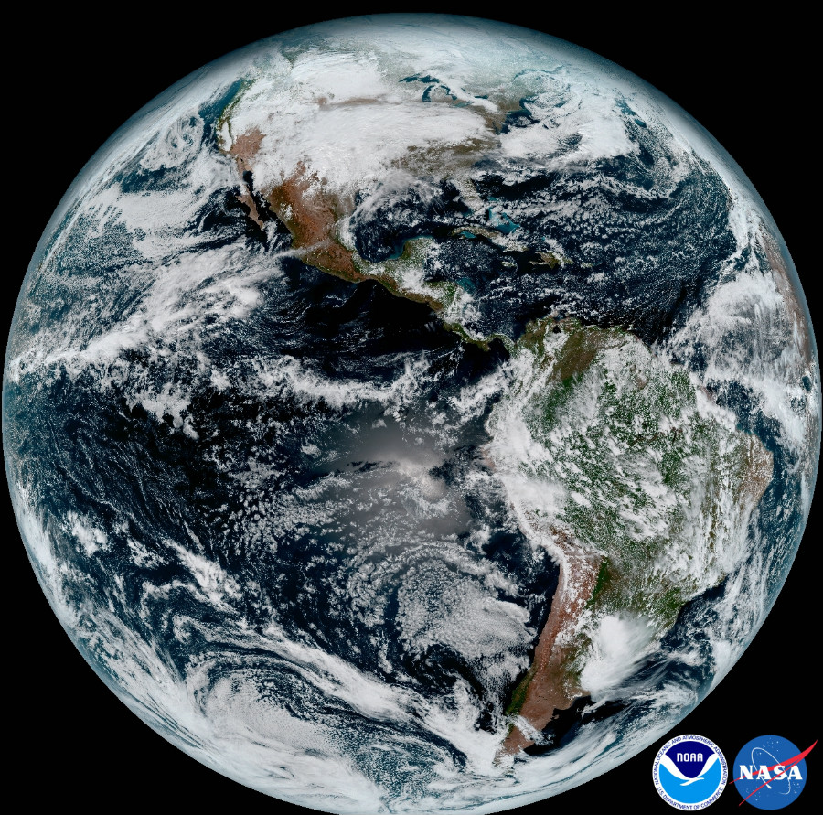 GOES-R, has sent its first, high-resolution images