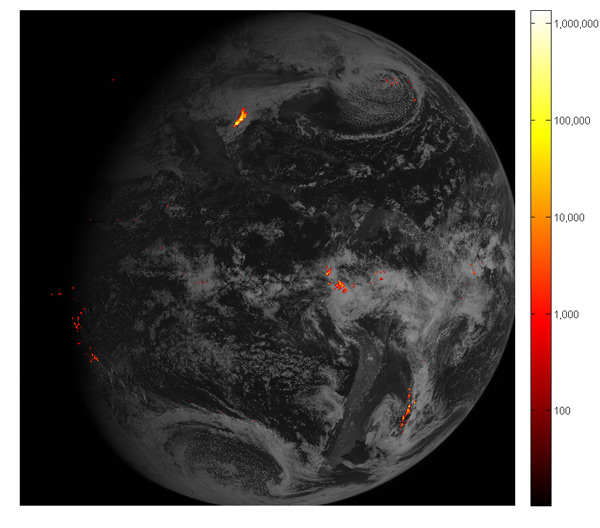 First GOES-16 Lightning Data