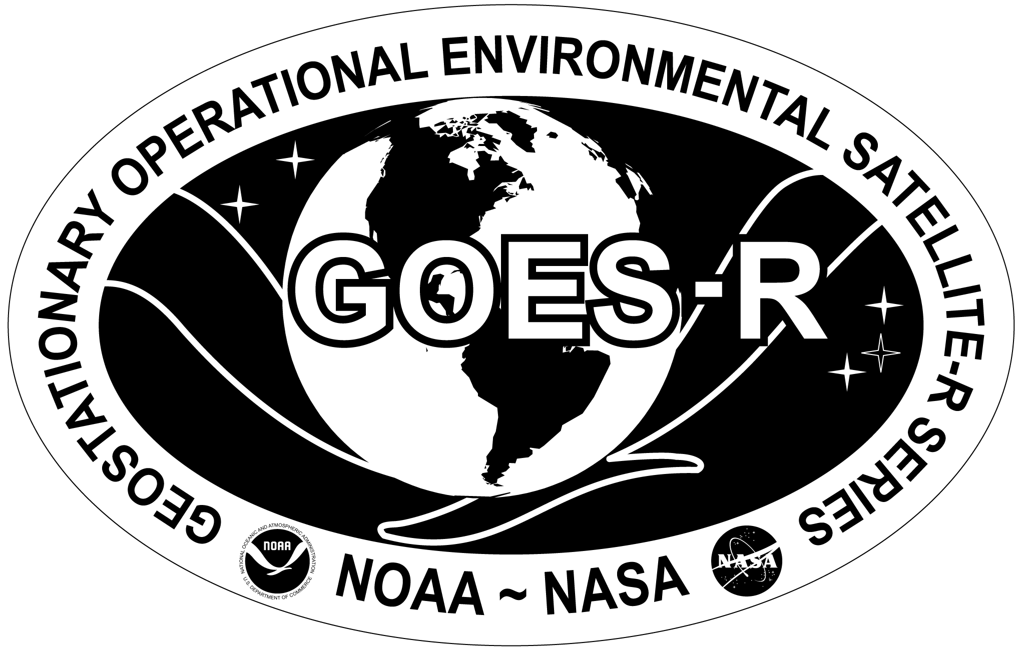greyscale GOES-R logo (PNG)