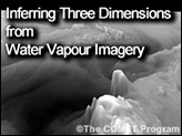 Inferring Three Dimensions from Water Vapour Imagery