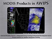 MODIS Products in AWIPS