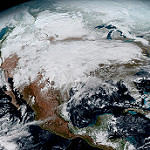 GOES-16 North America