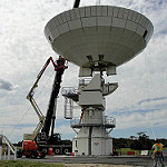 GOES-R Antenna Installation at WCDAS
