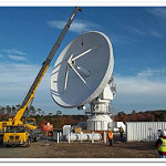 GOES-R Antenna Feed Installation at WCDAS
