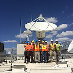 New GRB Antenna at NOAA Inouye Regional Center