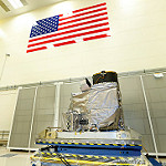 GOES-R ABI in Lockheed Martin Cleanroom