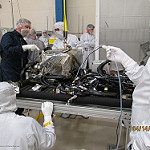 EXIS Installed on GOES-R Satellite