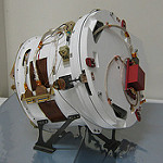 GOES-R Magnetometer Boom Stowed in Launch Configuration