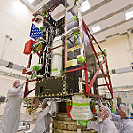 GOES-R Spacecraft Propulsion Module Arrives