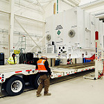 GOES-R Spacecraft System Module Arrives at Lockheed Martin