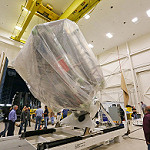 GOES-R Spacecraft Propulsion Module Arrives at Lockheed Martin