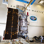 GOES-R Fully Assembled Satellite