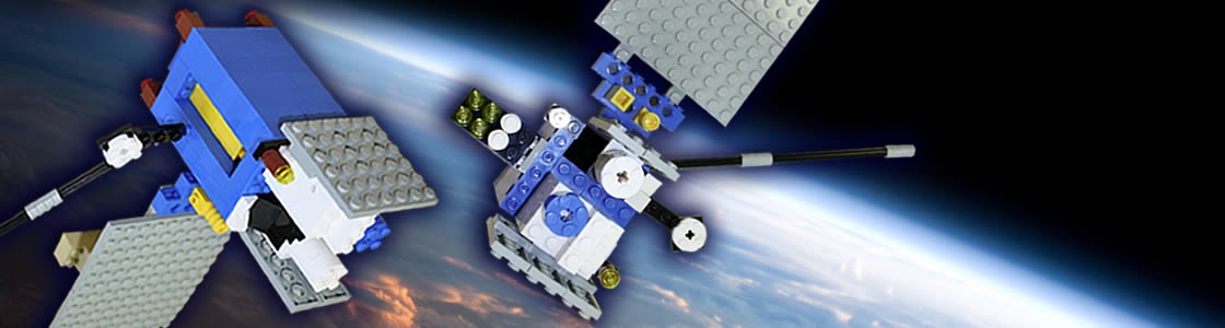 build your own GOES R satellite using LEGOS!