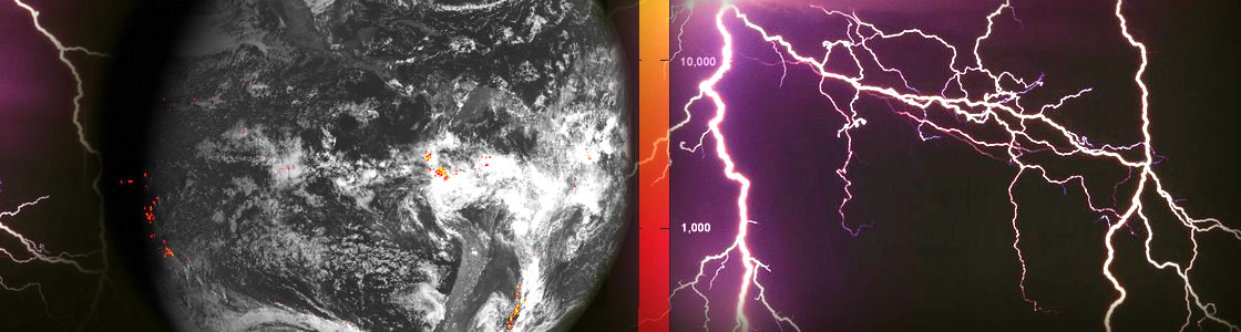 Flashy First Images Arrive from GOES-16 Lightning Mapper